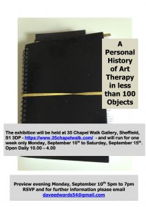 Objects Exhibition Flyer