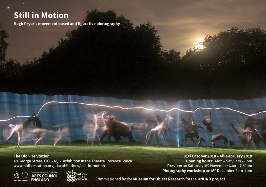Still in Motion exhibition flyer